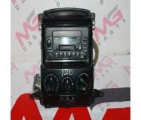 Климат контроль и магнитола Toyota Land Cruiser 120