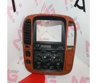 Главная консоль климат-контроль Toyota Land Cruiser 100 (84010-60140)